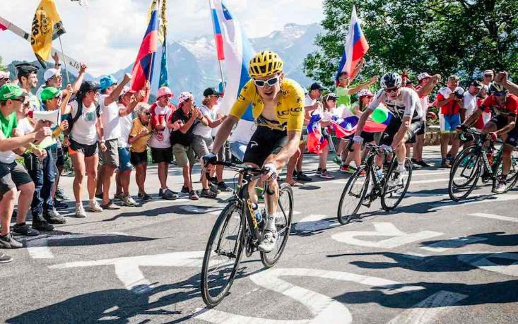 Tourwinnaar Geraint Thomas wil trainingsmaatje Cameron Wurf achterna en zich gaan richten op triathlon