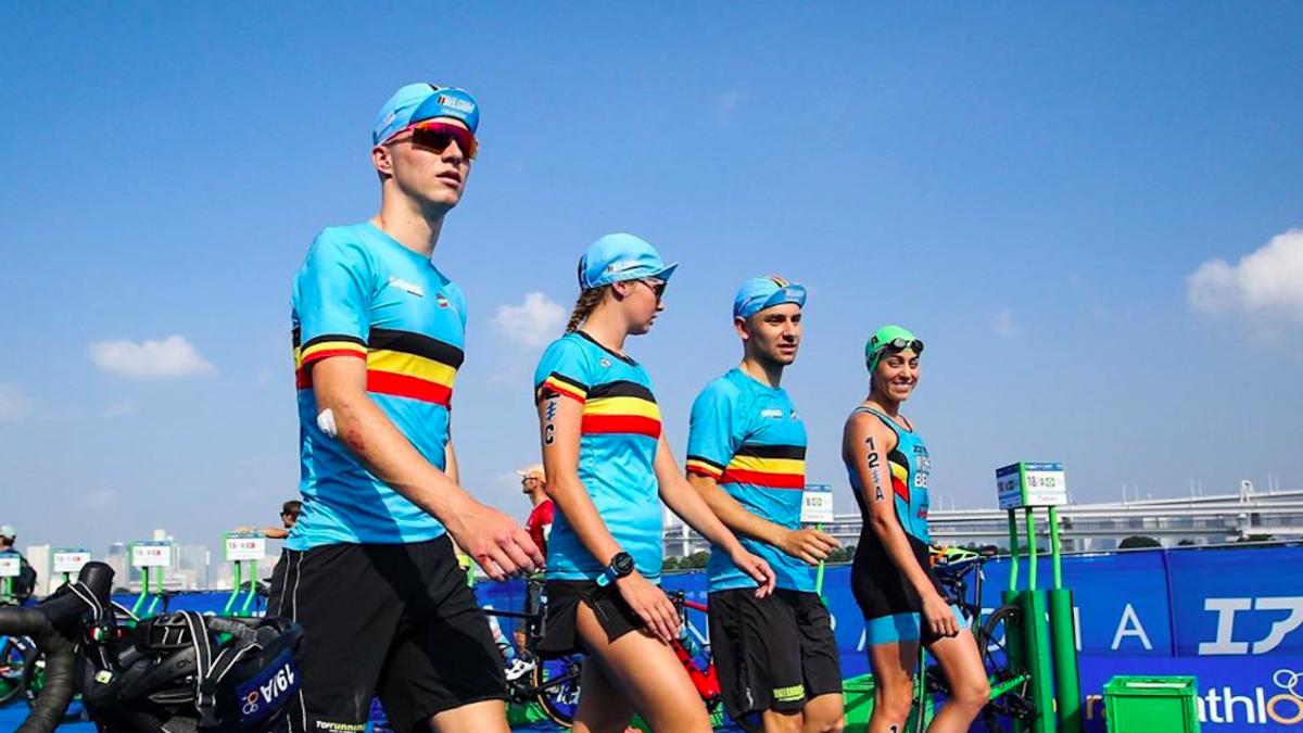 Belgische triatleten treffen voorbereidingen hitte Tokyo 2020: 'Het is afzien; braken, flauwvallen'