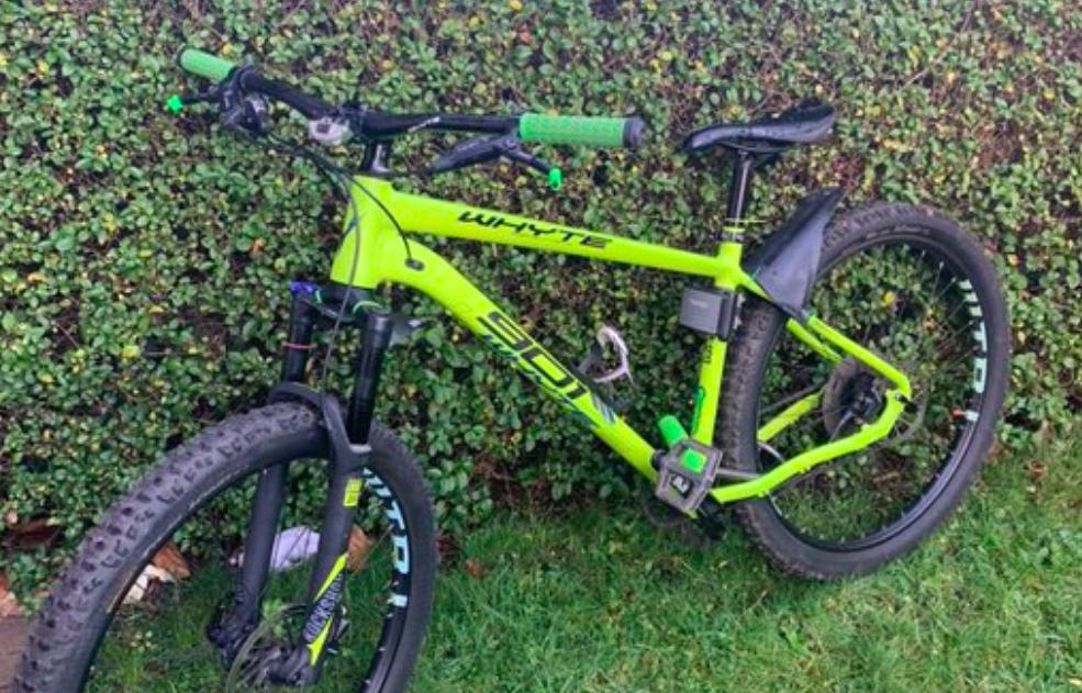 Rechtmatige eigenaar gestolen mountainbike teruggevonden via social media
