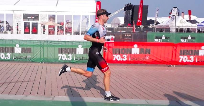 Belgische hegemonie Ironman 70.3 Dubai: winst voor Bart Aernouts