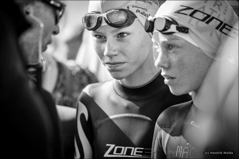Selina Franken over triathlon en raceday: 'In de auto ben ik altijd heel erg stil'