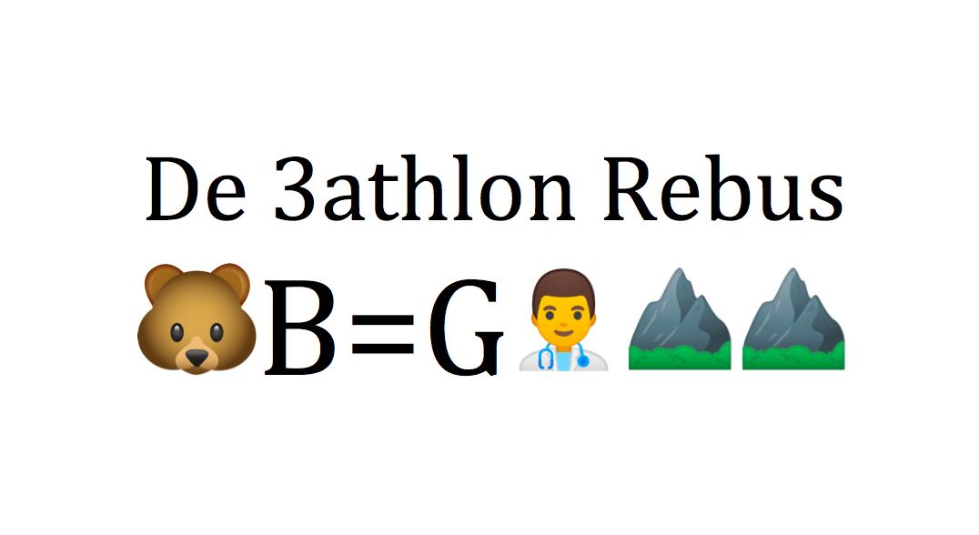 Winactie: los onze triathlon 3athlon rebussen op en win een 3athlon shirt!