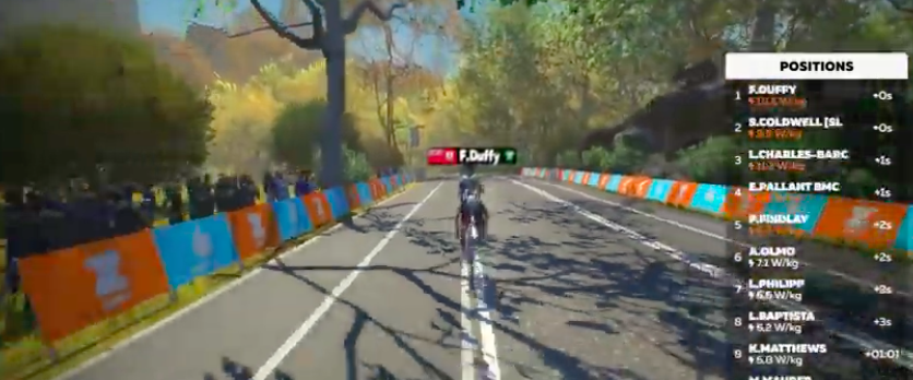 Zwift Pro Tri Race Series van start: Flora Duffy wint eerste Zwift race tussen professionele triatleten