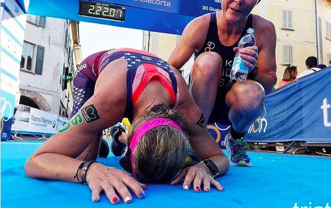 Paralympisch triatleet Amy Dixon krijgt loopband: 'Nu kan ik er helemaal voor gaan'