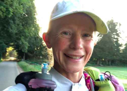 Irene Kinnegim bijna halverwege 'self supported ultrarun' 154 kilometer