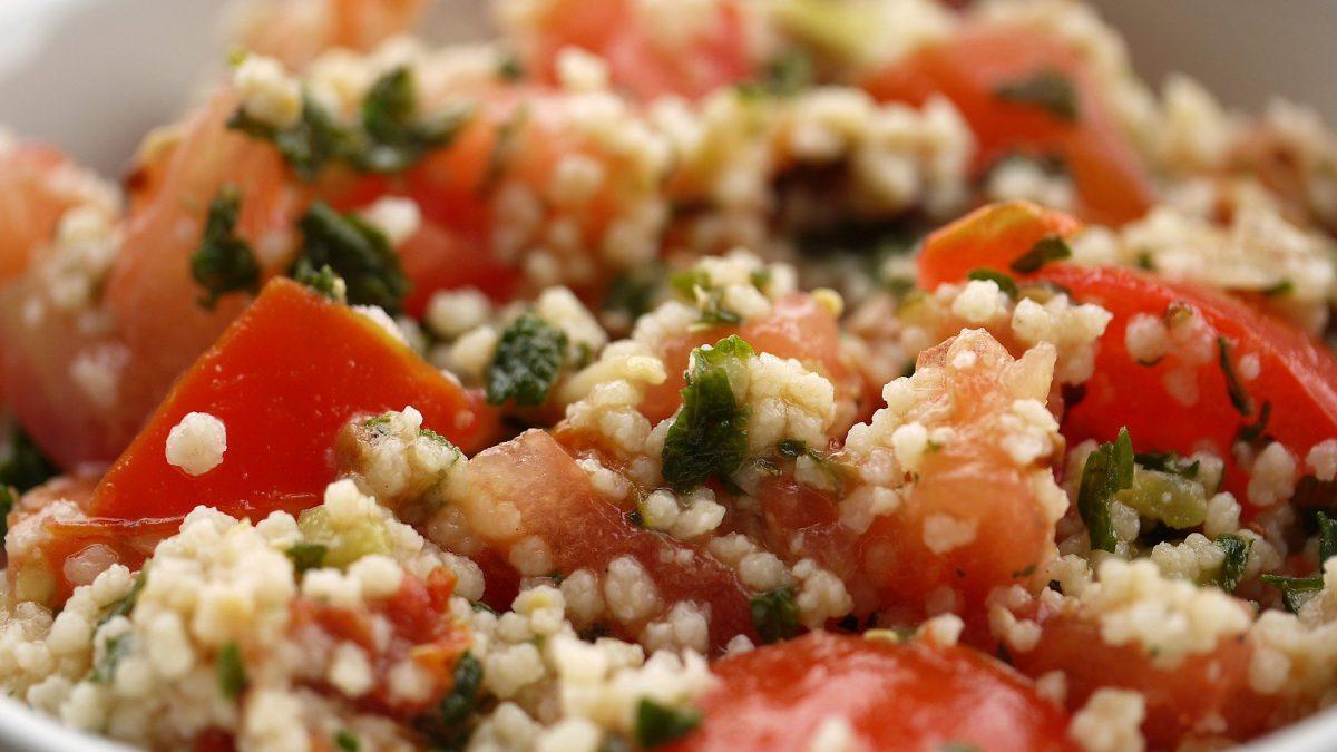 Recept: Couscous maaltijdsalade