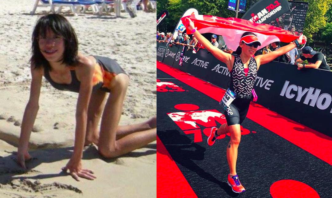 Triatlete over battle tegen anorexia: 'Triathlon leerde mij genieten van het proces'