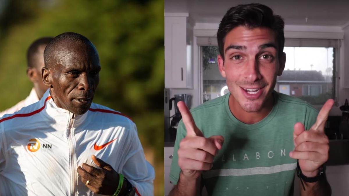 Man traint, eet en slaapt 24 uur lang als Eliud Kipchoge [VIDEO]