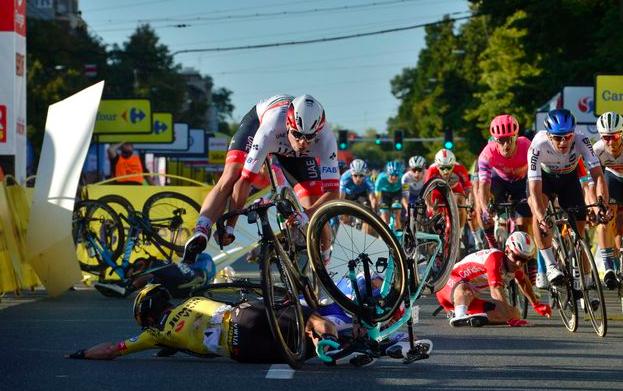 Ploegarts Fabio Jakobsen: 'We gaan er vanuit dat hij weer renner wordt'