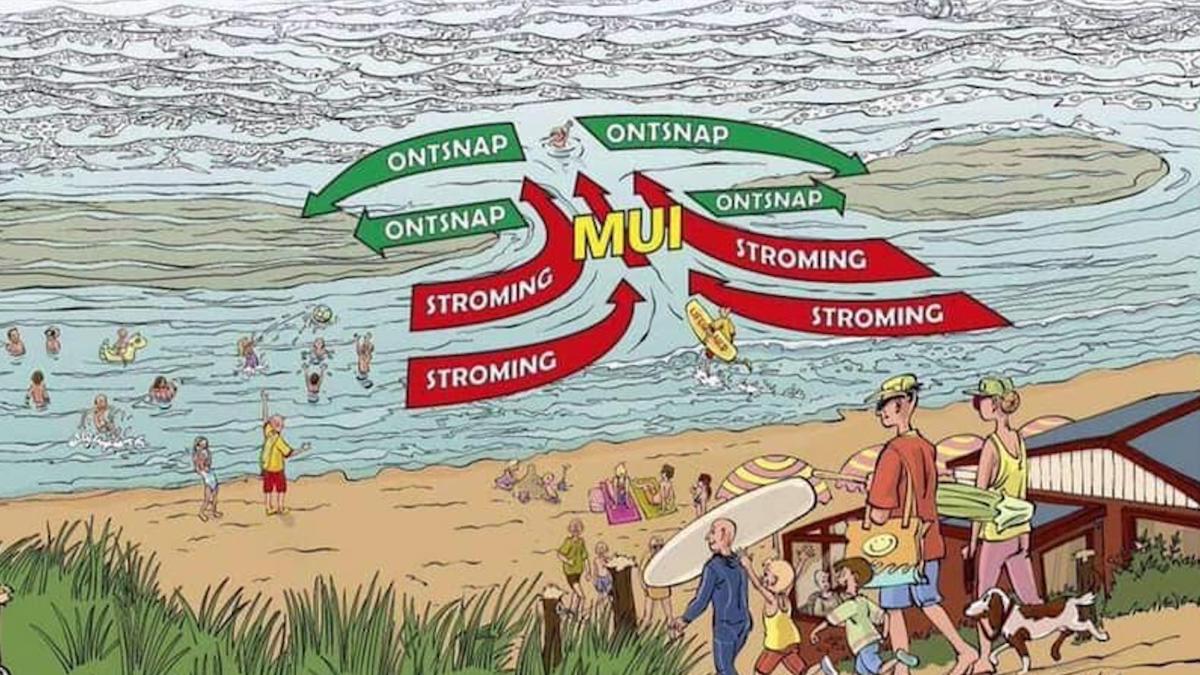 Verraderlijke stromingen in zee: hoe ontsnap je uit een mui?
