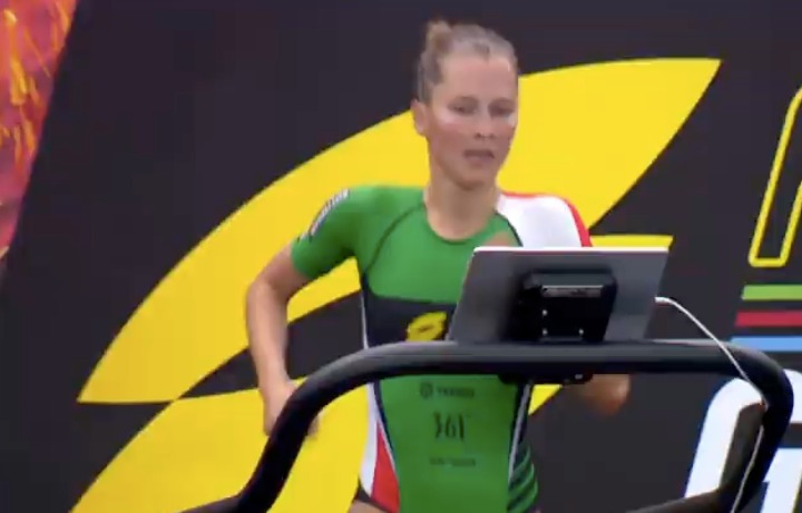 Rachel Klamer sterk in door Britse Jessica Learmonth gedomineerde Super League Triathlon Rotterdam