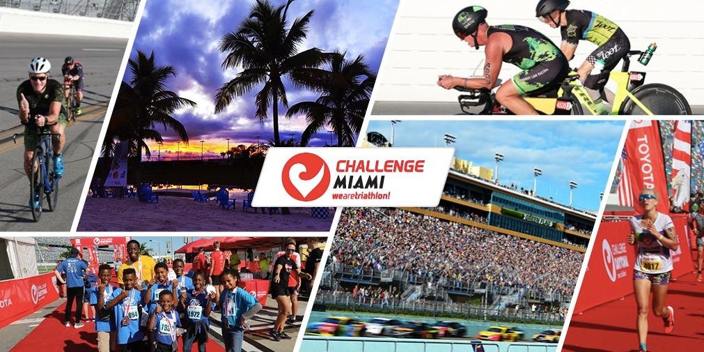 Nieuwe Amerikaanse Challenge triatlon in 2021 op Nascar race-circuit van Miami