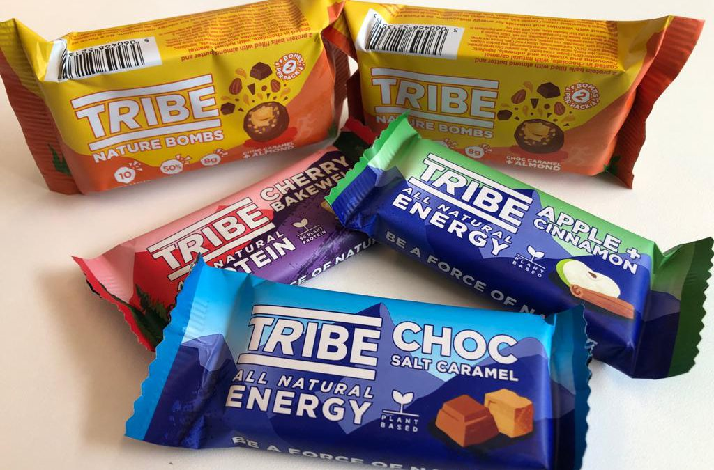 Review: Tribe Energie Reep, Nature Bomb, Proteïnereep en Proteïne shake