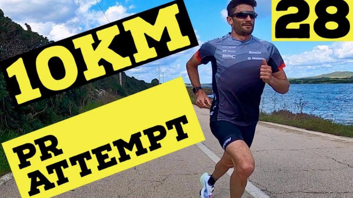 Bekijk nu live: Richard Murray vecht voor persoonlijk record tien kilometer