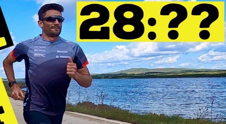 Live te volgen: Richard Murray gaat voor persoonlijk record tien kilometer
