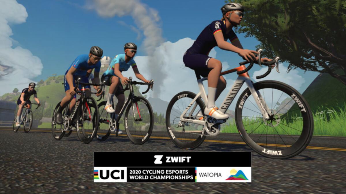 UCI en Zwift slaan handen ineen voor 2020 Cycling Esports World Championships