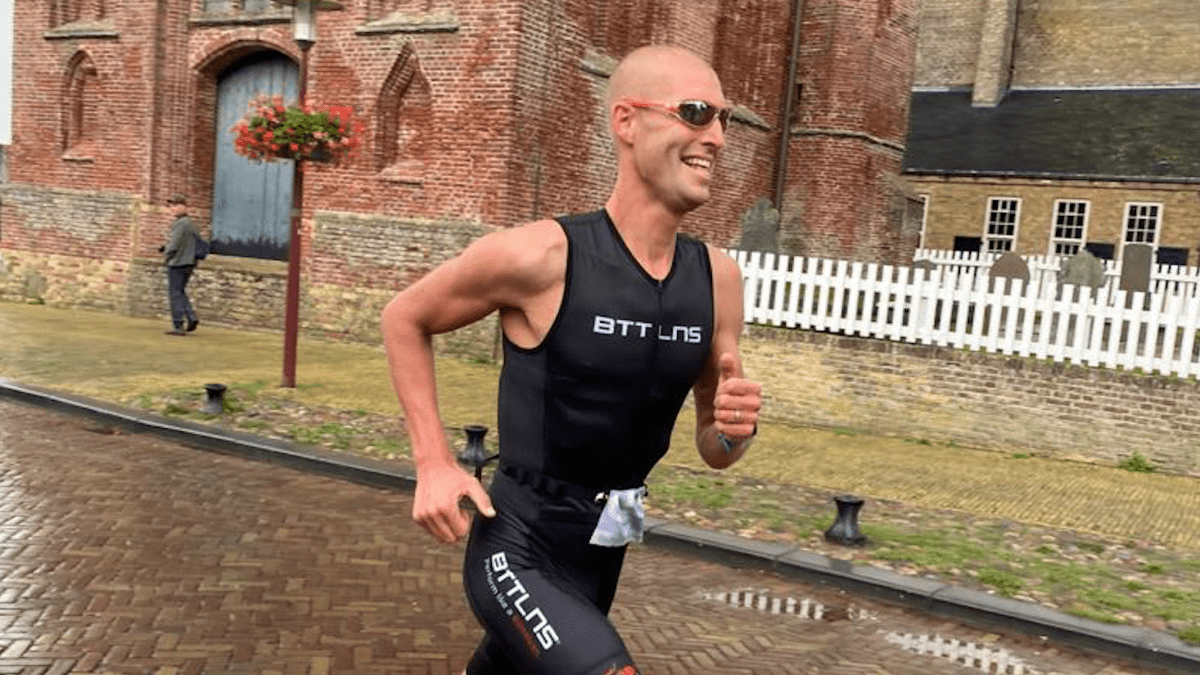 Maarten van der Weijden kijkt uit naar ThuisTriathlon: 'Jezelf verbeteren is een leuk spelletje'