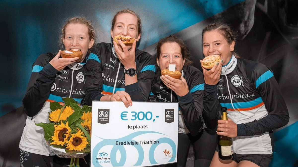 Teamcompetities Triathlon 'Vereniging in Beeld': Ferro Mosae – Maastricht