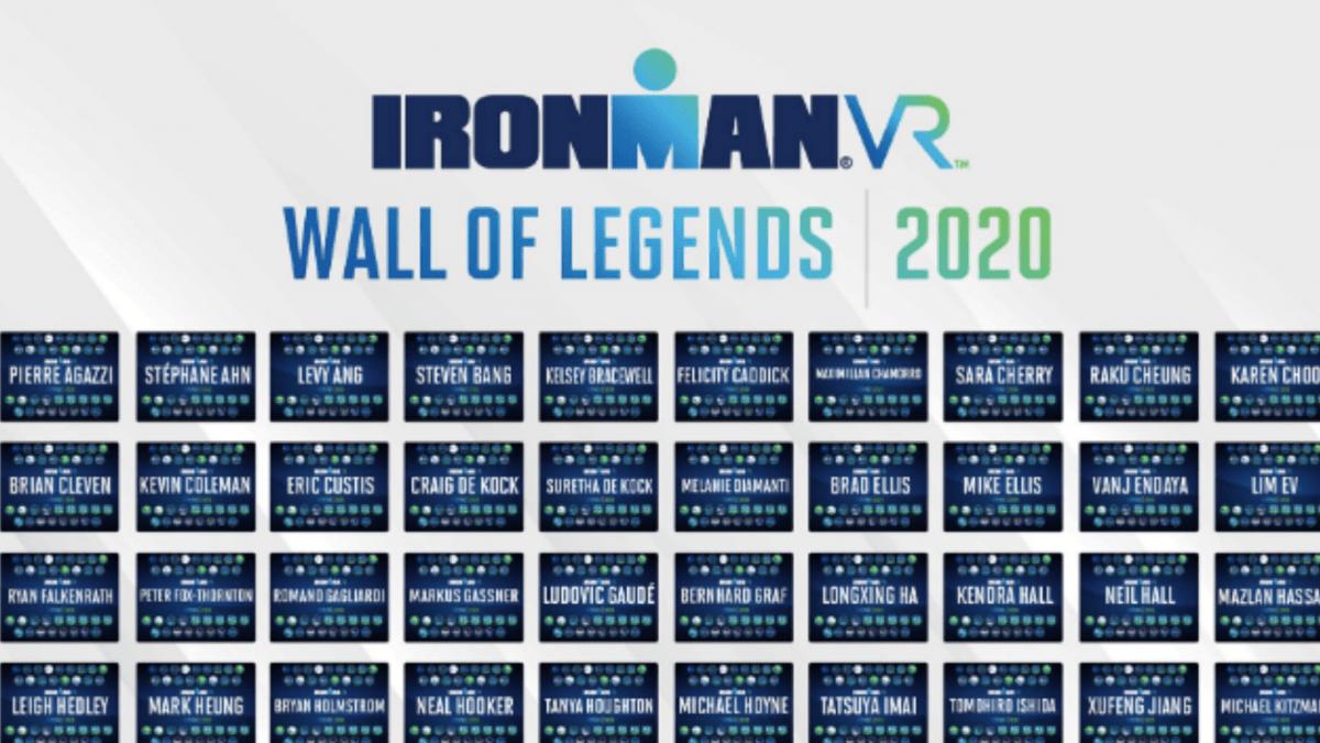 Ironman bedankt trouwe deelnemers Ironman VR met Wall of Fame