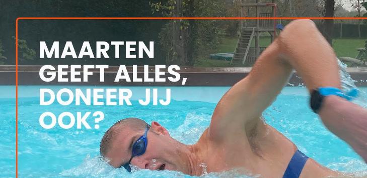 Kijk nu live: ThuisTriathlon Maarten van der Weijden