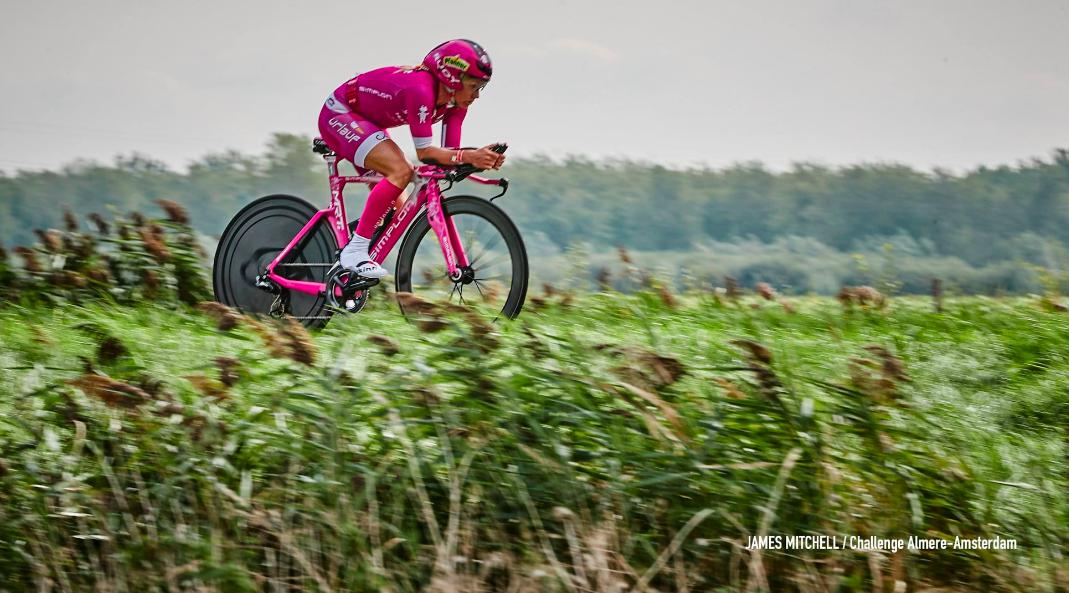Yvonne van Vlerken in bedankje aan fietssponsor: 'Ik hou niet meer van fietsen'