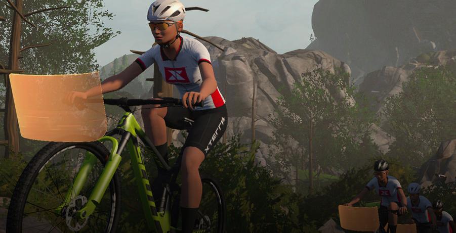 Xterra sluit partnerschap met Zwift voor cross trainingen en races