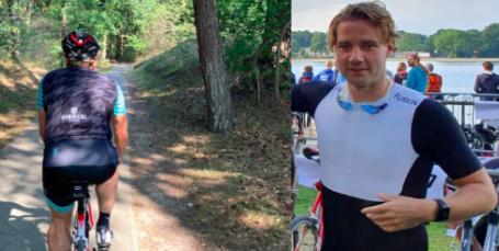 Jochem van Dillen met KiKa Extreme naar IM 70.3 Westfriesland: 'Vond het meteen toffe sport'