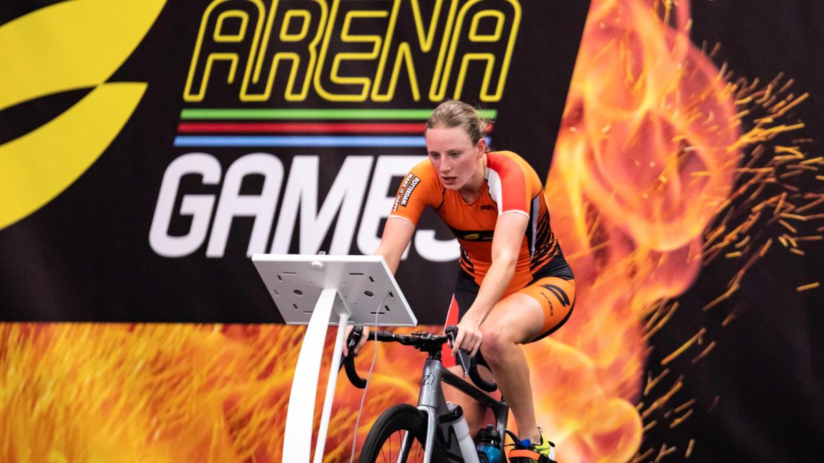 Maya Kingma maakt zich op voor SLT Rotterdam: 'Dit is gewoon een toffe race…een show'