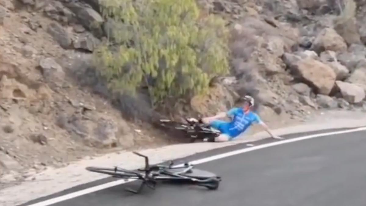 Andrea Salvisberg reageert op video van crash tijdens Challenge Gran Canaria