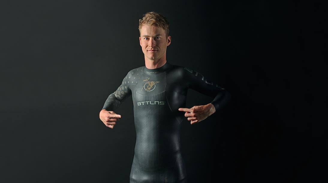 BTTLNS gaat samenwerking met Marten van Riel aan, Belgische topatleet kiest voor Nederlands wetsuit