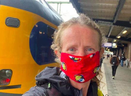 Irene Kinnegim staakt FKT-poging Pieterpad: 'Soms moet je verstandig zijn'