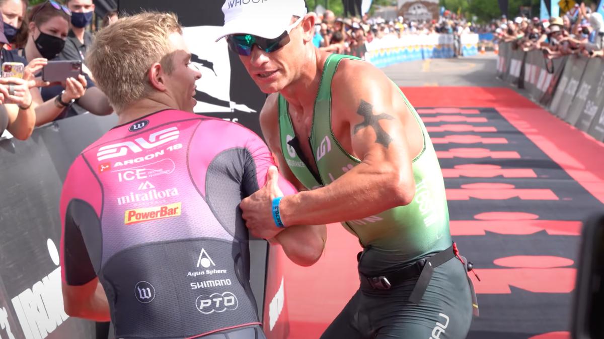 Lionel Sanders doorloopt Ironman 70.3 St. George van start tot finish [VIDEO]