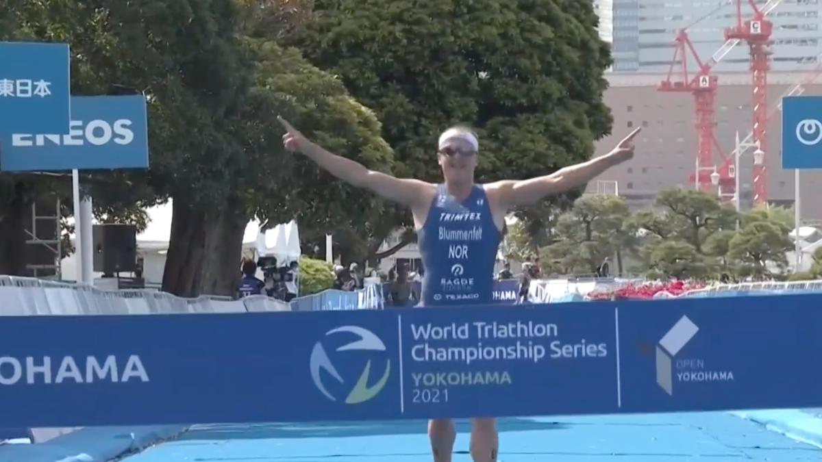 Kristian Blummenfelt zegeviert tijdens WTCS Yokohama, Donald Hillebregt buiten top 40