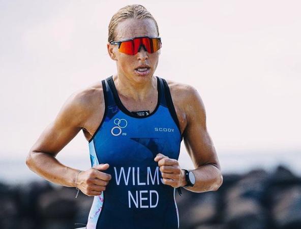 Lotte Wilms naar mooie zesde plaats Oceania Triathlon Championships