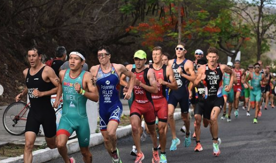 In beeld gevangen: World Triathlon Cup Huatulco