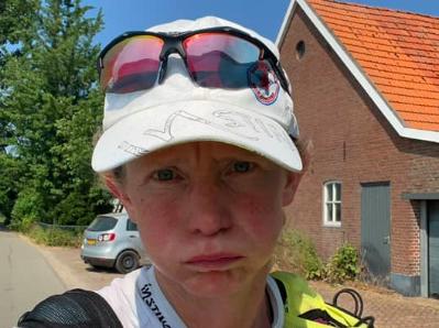 Ook tweede poging Pieterpad geen succes voor Irene Kinnegim: 'Uitgedroogd, niet verantwoord door te gaan'