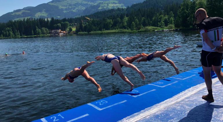 EK Sprint Kitzbühel junioren meisjes: alleen Barbara de Koning naar finale