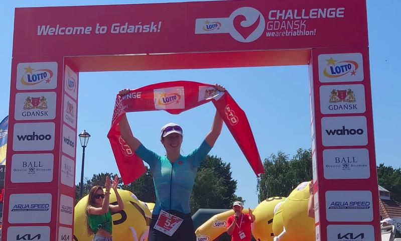 Sarissa de Vries definitief atlete van wereldklasse: winst Challenge Gdansk