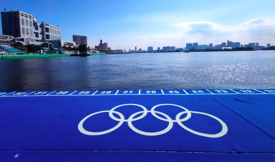 Zó ziet triathlon venue Olympische Spelen Tokyo eruit