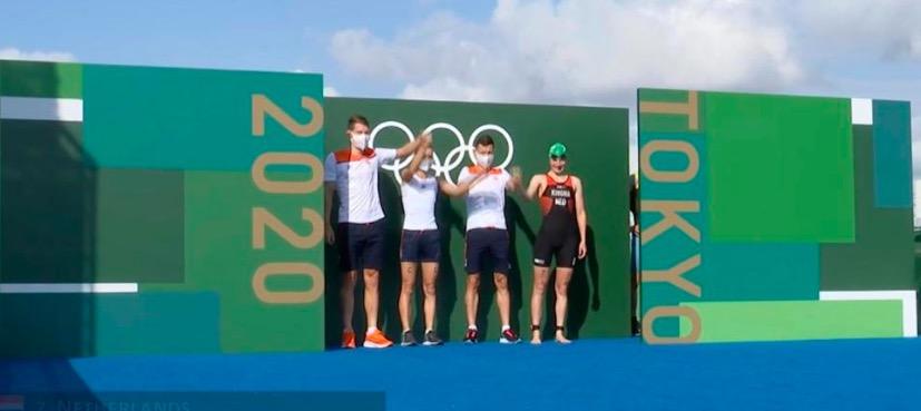 Nederlands team Mixed Relay verrast met fenomenale 4e plaats, Groot-Brittannië naar sterke zege