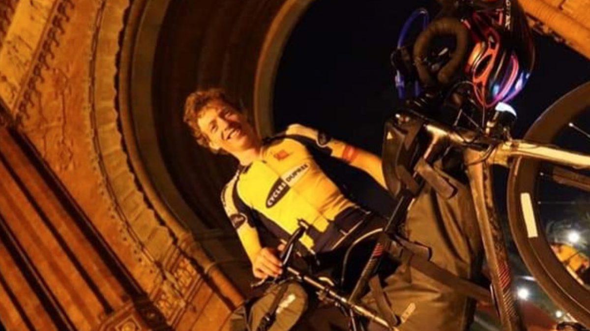 Marsmans trapt 4400 kilometer lange wielerrace door Europa af: 'Ik wil altijd eerste worden'