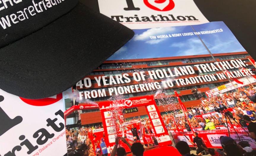 3athlon.nl boek '40 jaar Holland Triathlon: van pionieren tot Almeerse traditie' te koop