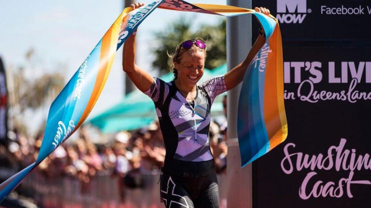 Lotte Wilms pakt prachtige overwinning tijdens Ironman 70.3 Sunshine Coast