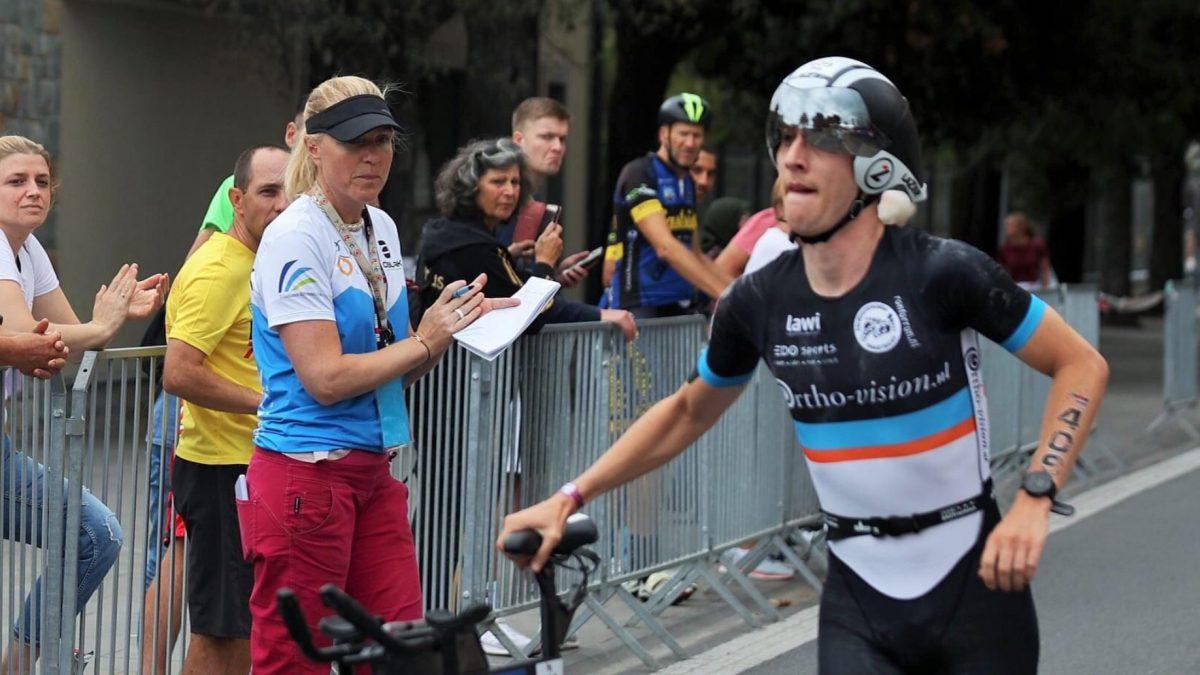 Voormalig wielrenner Giel Meesen tweede in AG-only IM 70.3 Slovenië: 'De rest van het fietsen niemand meer gezien'