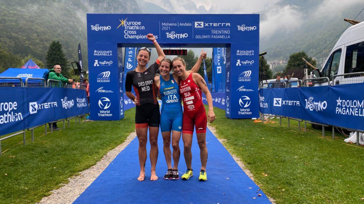 Diede Diederiks tweede EK Cross Triathlon Xterra Dolomiti Paganella, derde overall