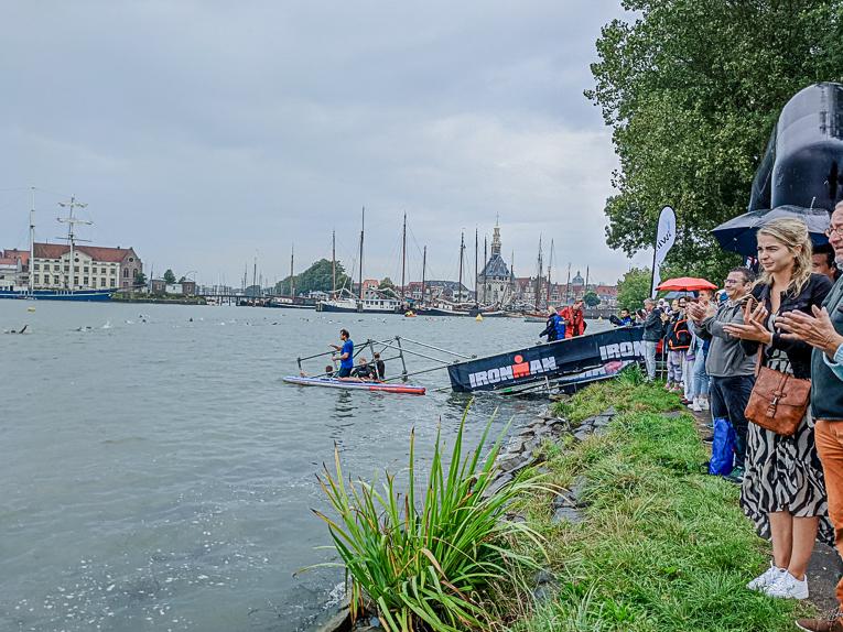 In beeld gevangen: Ironman 70.3 Westfriesland